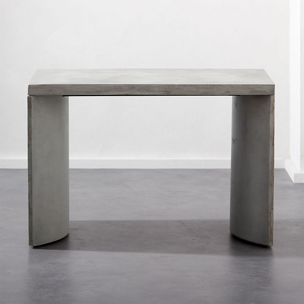 Concrete Furniture Cb2
