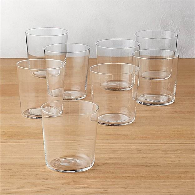 Set of 8 Marta Double Old-Fashioned Glasses - Image 1 of 12