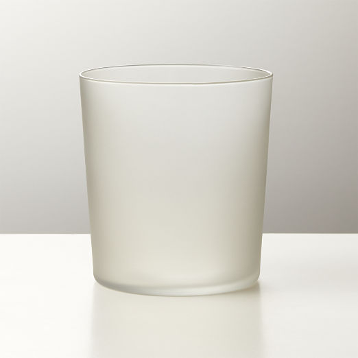Marta Matte Smoke Double Old-Fashioned Glass