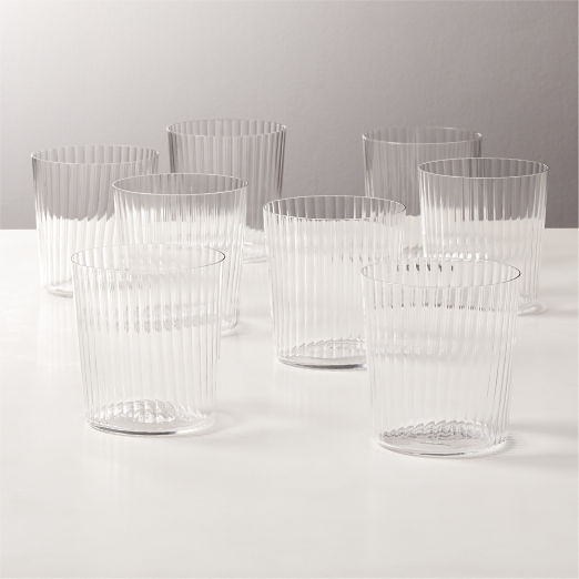 Marta Optic Double Old-Fashioned Glasses Set of 8