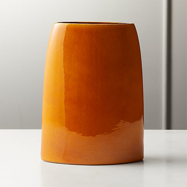 Marvin Orange Vase - Image 1 of 7