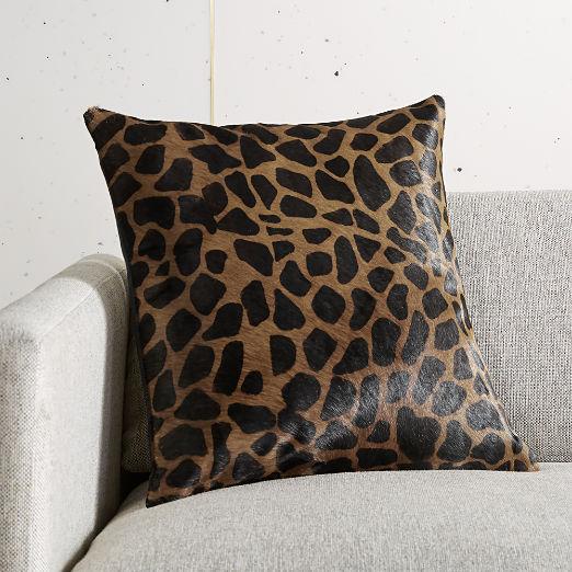 """16"""" Masai Animal Print Pillow"""