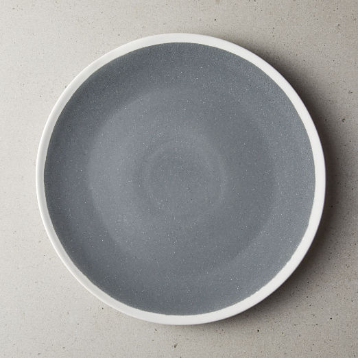 Mason Grey-White Stoneware Dinner Plate