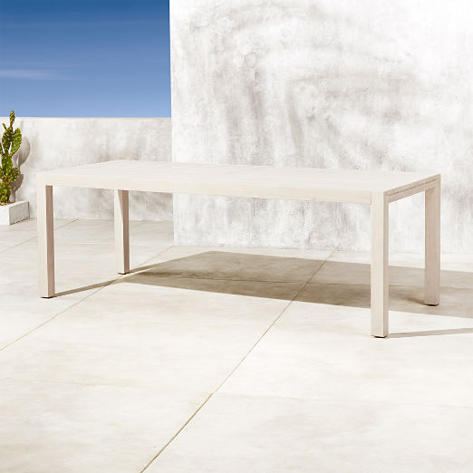 Matera Whitewash Large Dining Table