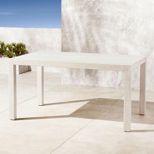 Matera Whitewash Dining Table