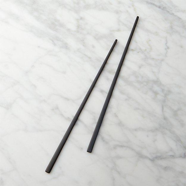 Matte Black Chopsticks - Image 1 of 2