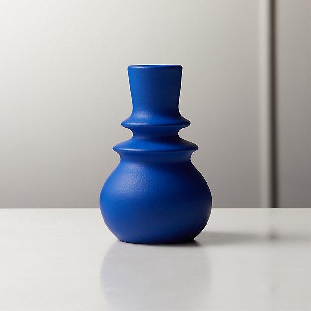 Maxine Blue Bud Vase - Image 1 of 5