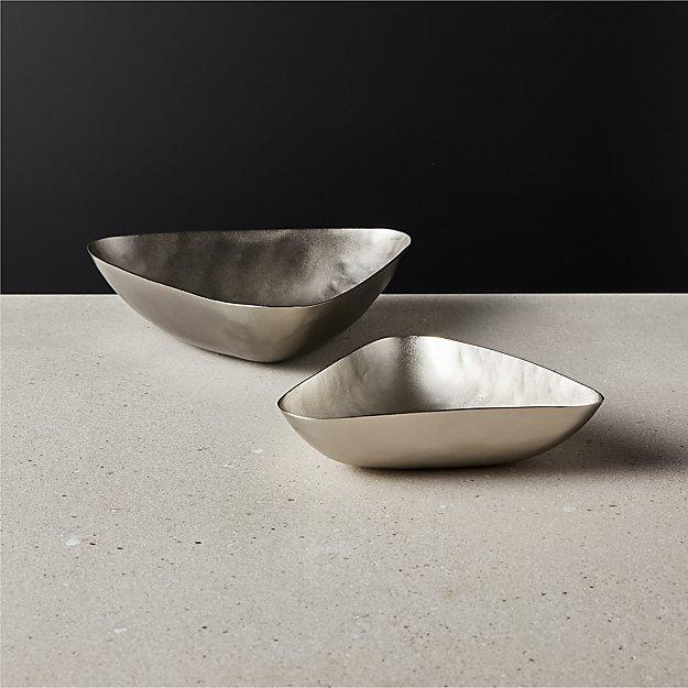 Mel Brushed Black Bowls - Image 1 of 2