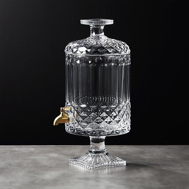 Mellie Glass Beverage Dispenser - Image 1 of 7