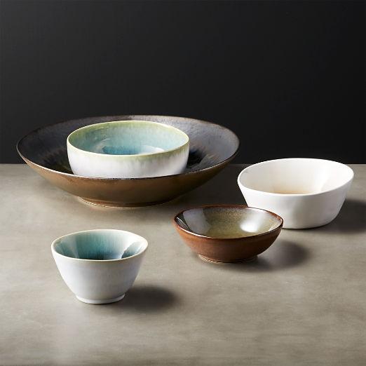 Melt Small Reactive Bronze Bowl