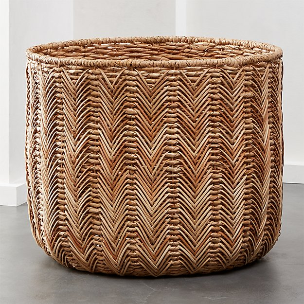 Merced Large Seagrass Basket - Image 1 of 6