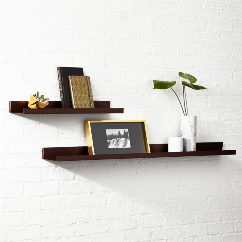design product martin industrial home shelves shelf of and wall display shelfs set
