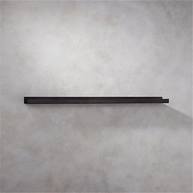 Metalwallshelfgunmetal48inrof16 Metalwallshelfgunmetal48inrof16
