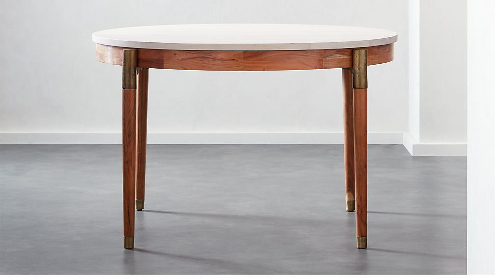 f9bf08451c Polanco Round Dining Table + Reviews | CB2