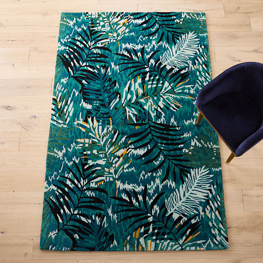 Midnight Jungle Rug