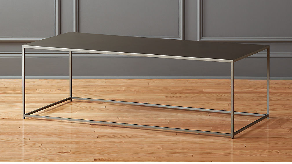 Mill Large Coffee Table Reviews CB - Cb2 mill coffee table