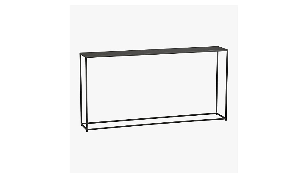 High Quality Mill Narrow Console Table + Reviews | CB2