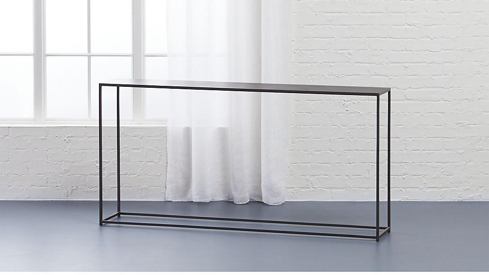 long narrow console table mill narrow console table + Reviews | CB2 long narrow console table