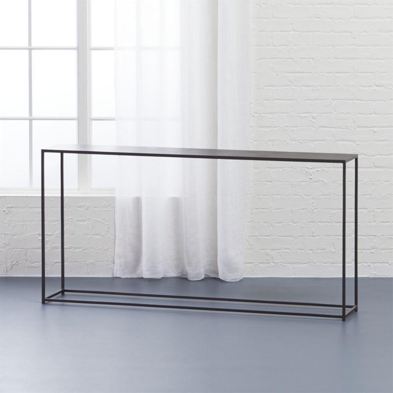 Long Skinny Sofa Table Er Than, Long Thin Sofa Tables