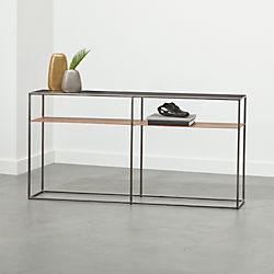 Modern Console Tables CB - Cb2 sofa table