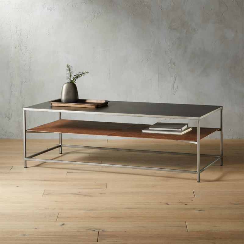 Cb2 Darbuka Brass Coffee Table: Designer Coffee Tables