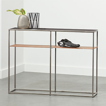 Mill Mini Leather Console Table