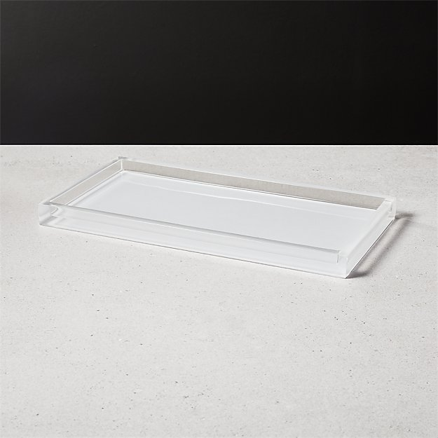 Millenium White Tank Tray - Image 1 of 8