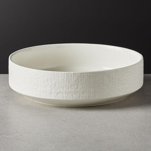 Millye Ivory Serving Bowl