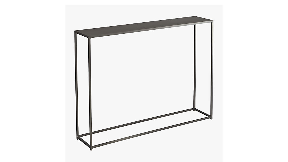 Charmant Mill Mini Console Table + Reviews | CB2