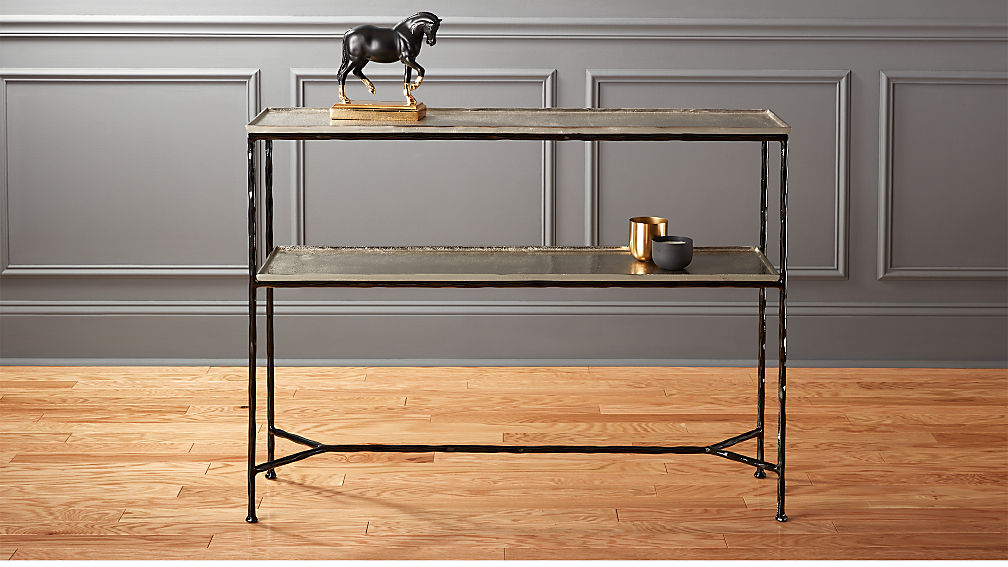 Molten metal console table reviews cb