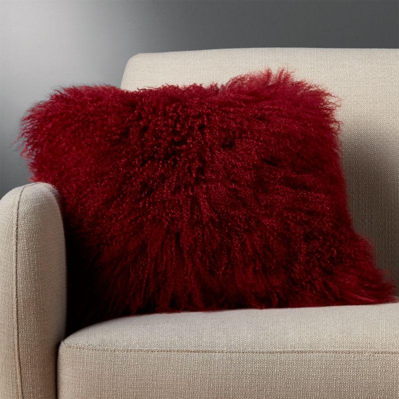 Fur Pillows | CB2