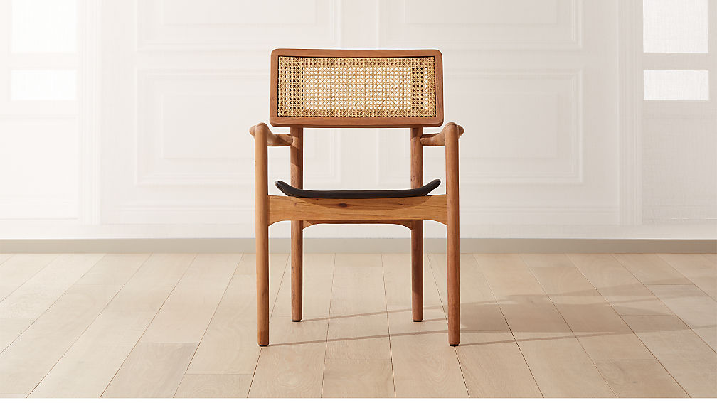 Moniker Cane Back Chair - Image 1 of 9