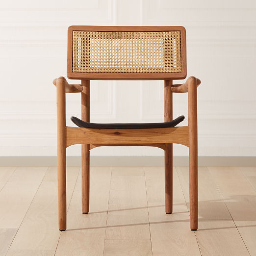 Moniker Cane Back Chair