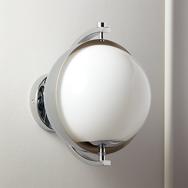 Moon Hanging Sconce Polished Chrome - Image 1 of 12