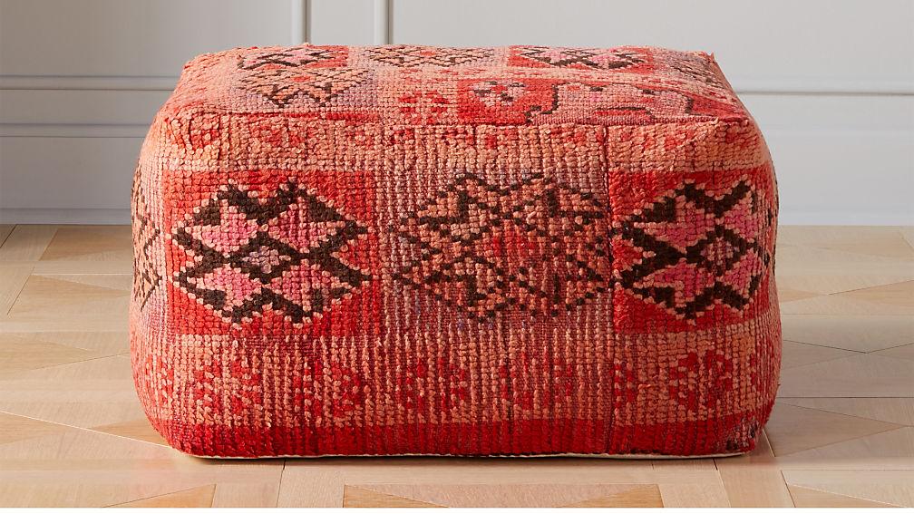 Modern Pouf Ottoman