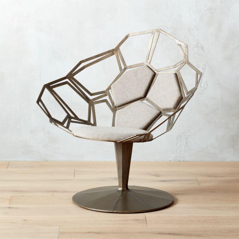 Mosaico Statement Chair + Reviews | CB2
