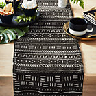 View product image Black Mudcloth Table Runner - image 1 of 5