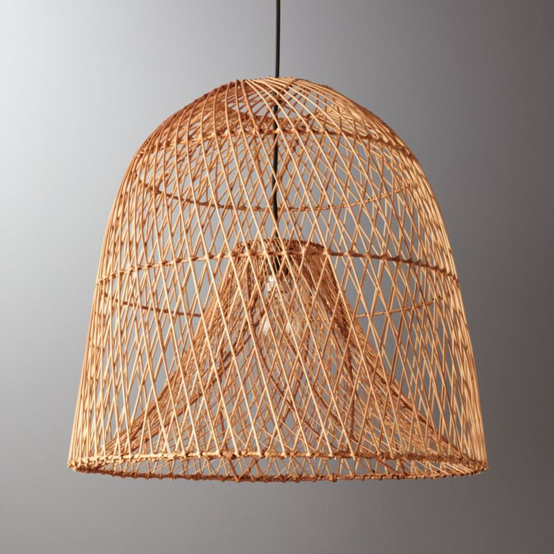Nassa Basket Pendant Light Reviews Cb2