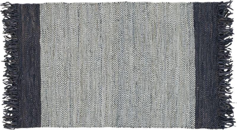 Navy Foyer Rug : Entryway rugs cb