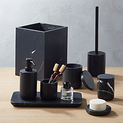 Modern Bathroom Accessories Organize Vanities In Style Cb2