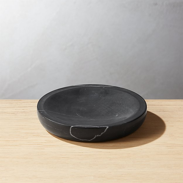 Nexus Black Marble Soap Dish - Image 1 of 12