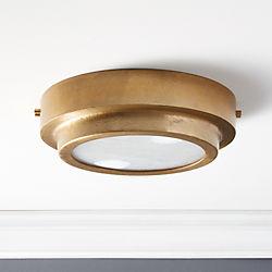 Modern Flush Mount Lighting | CB2
