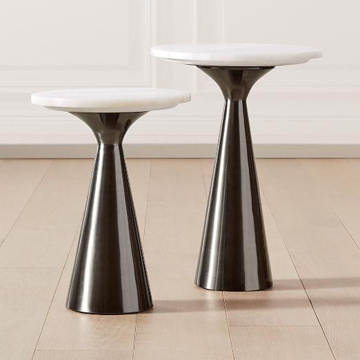 Nina Rose Quartz Side Tables