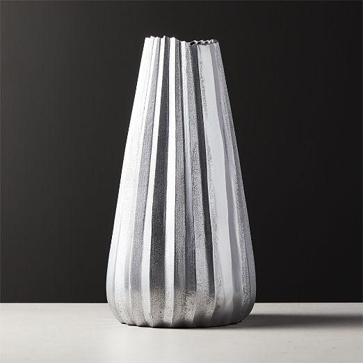 Odette Silver Vase