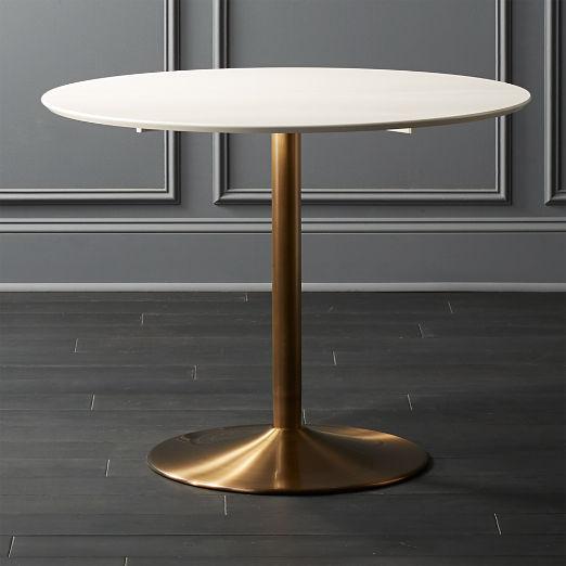 Odyssey Brass Dining Table