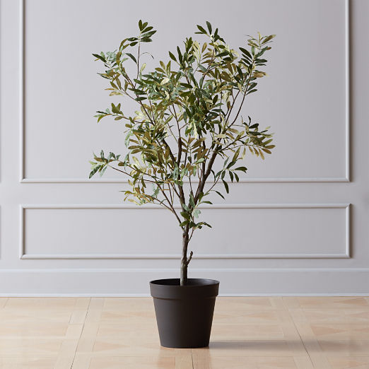Faux Olive Tree 4'