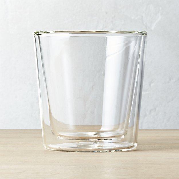 Double Wall Glass Coffee Mug Reviews Cb2