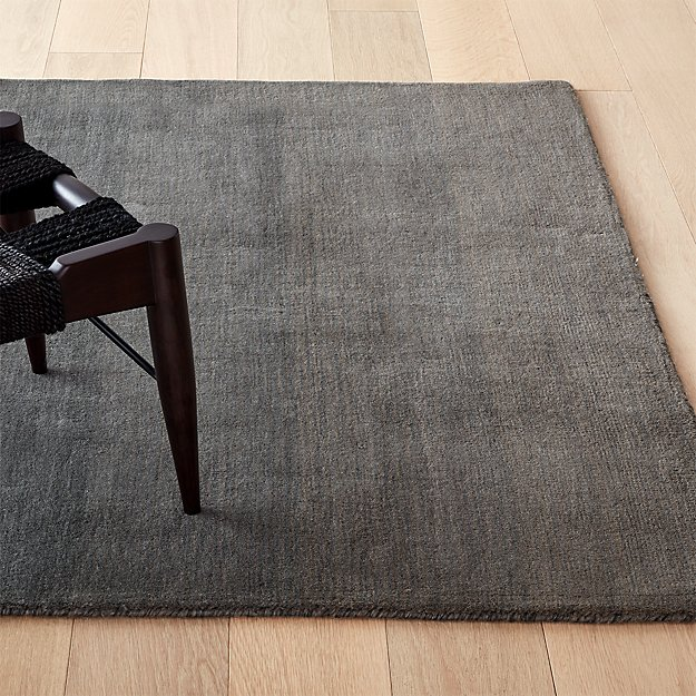 Ombre Grey Rug - Image 1 of 11