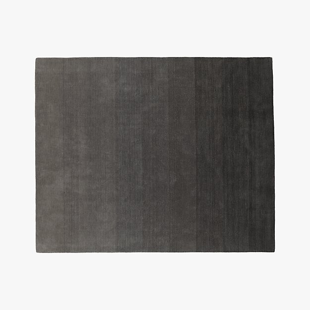 Ombre Grey Rug 8 X10 Reviews Cb2