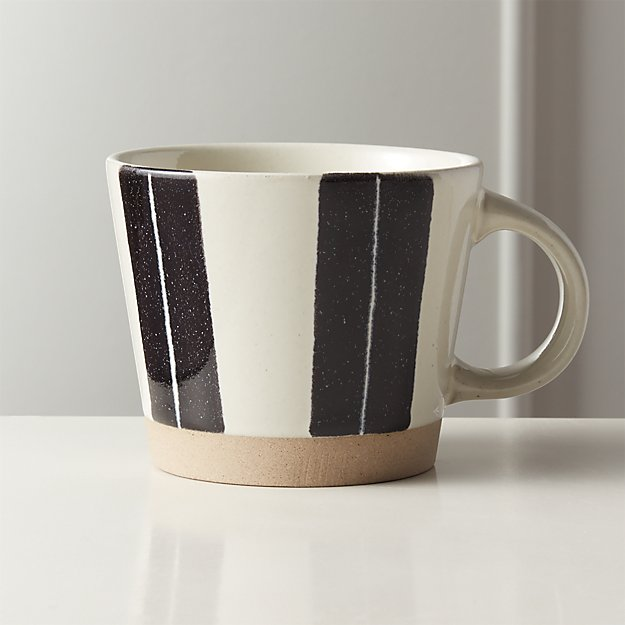 Open Lane White Clay Mug - Image 1 of 5